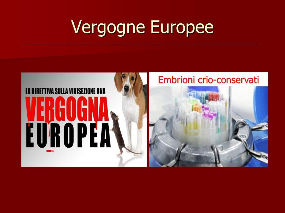 Embrioni crio-conservati
