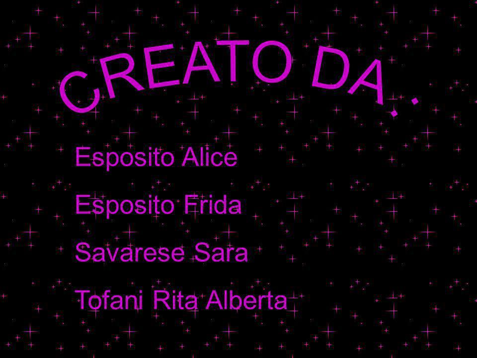 Esposito Alice Esposito Frida Savarese Sara Tofani Rita Alberta