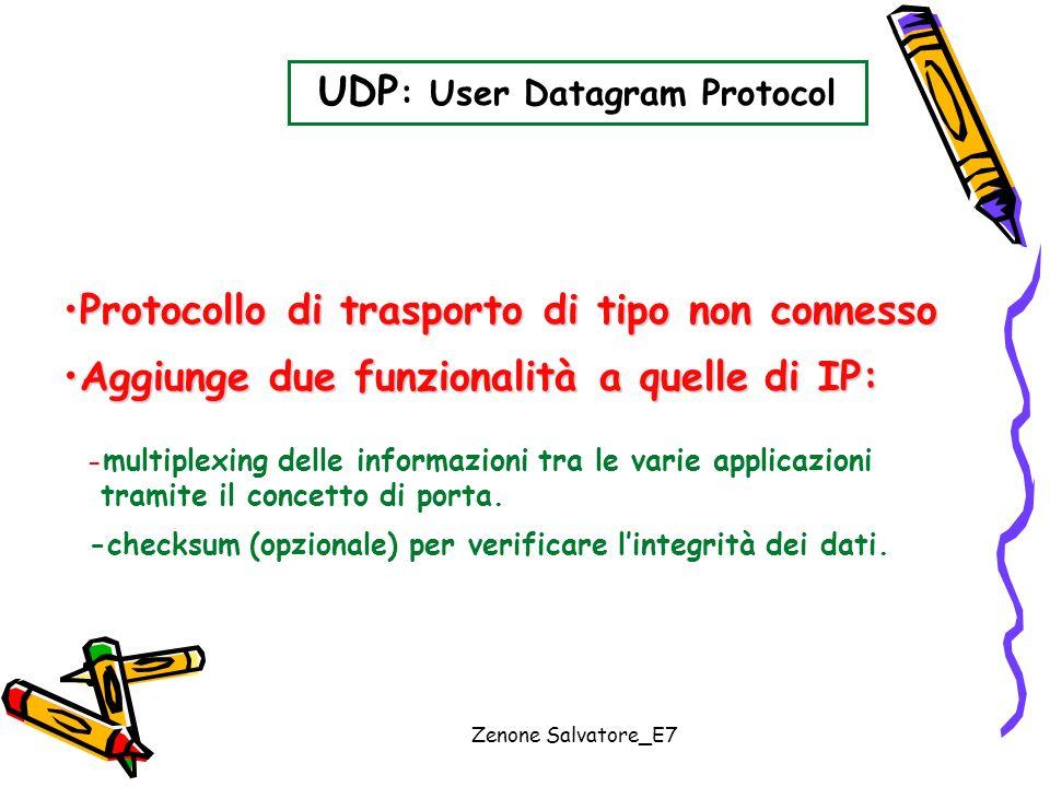 UDP: User Datagram Protocol