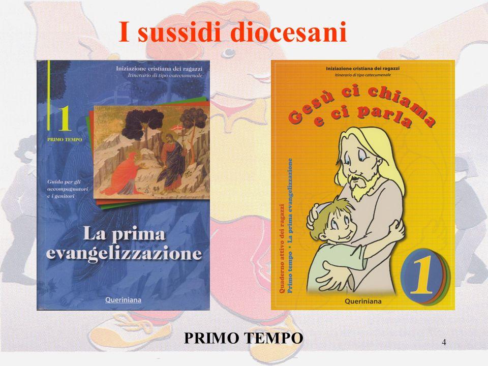 I sussidi diocesani PRIMO TEMPO