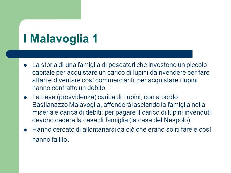 I Malavoglia 1