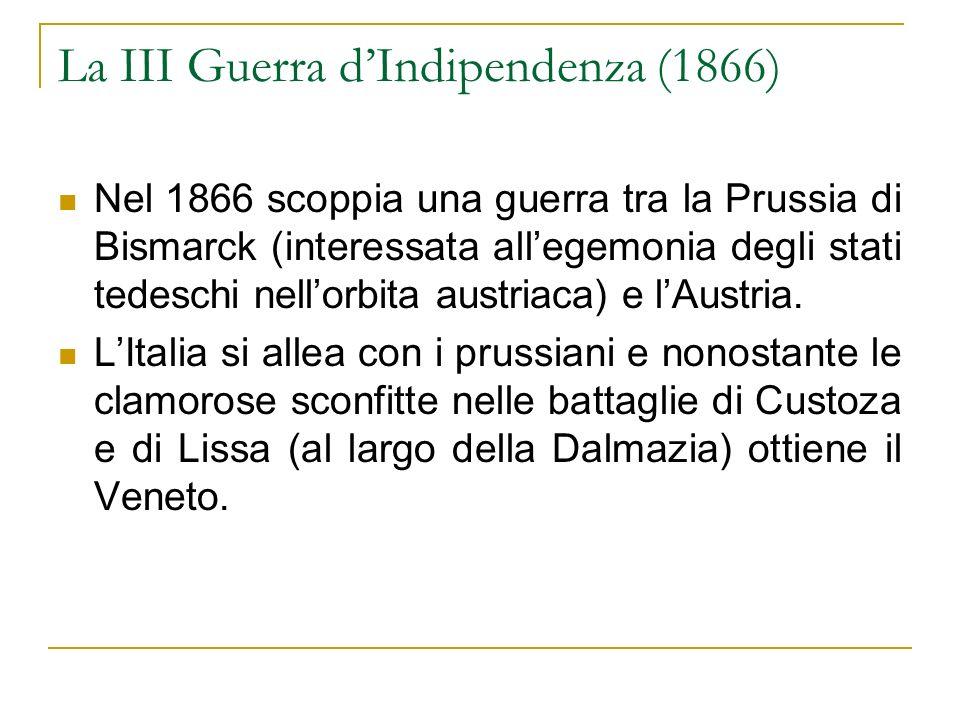 La III Guerra d'Indipendenza (1866)