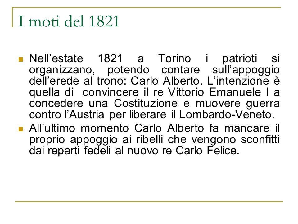 I moti del 1821