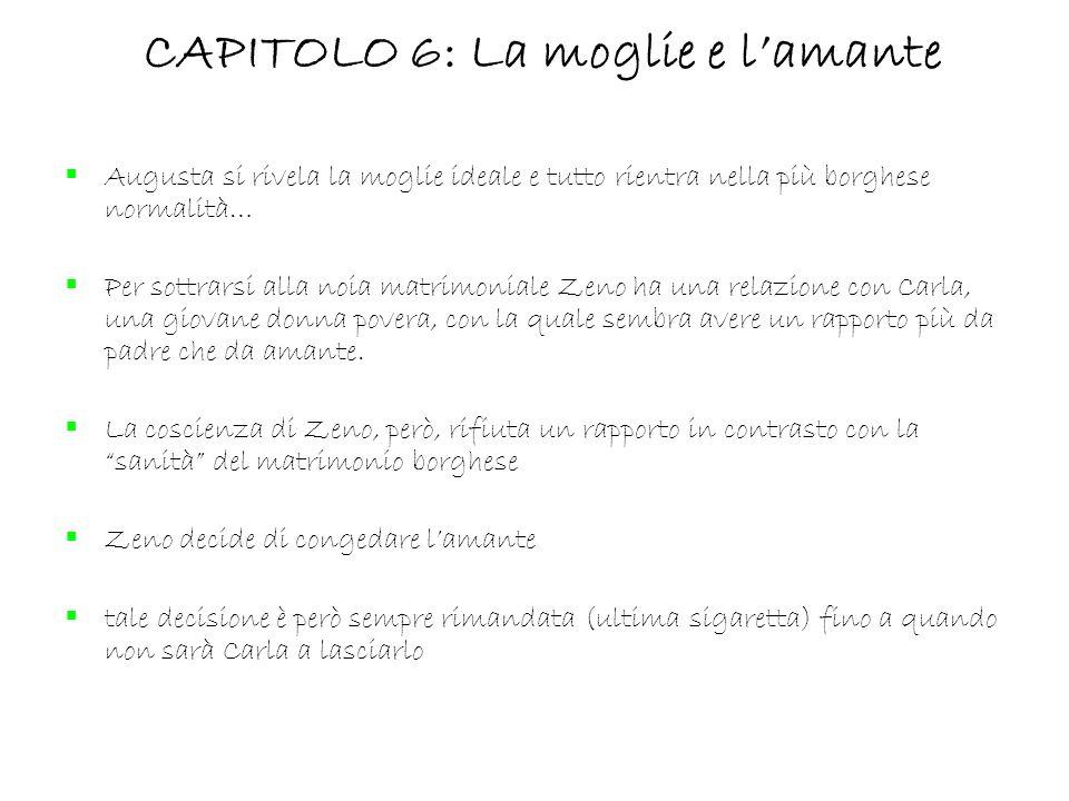 CAPITOLO 6: La moglie e l'amante