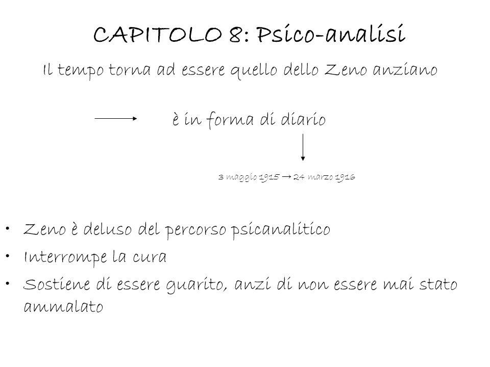 CAPITOLO 8: Psico-analisi