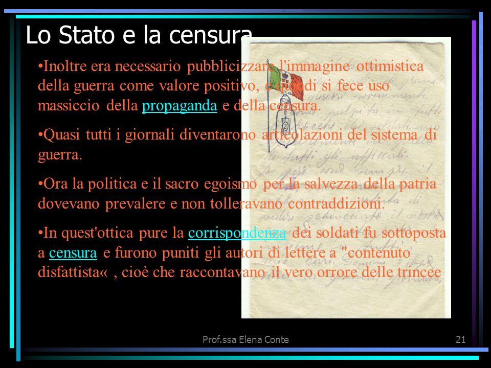 Lo Stato e la censura