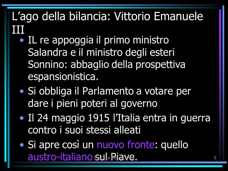 L'ago della bilancia: Vittorio Emanuele III
