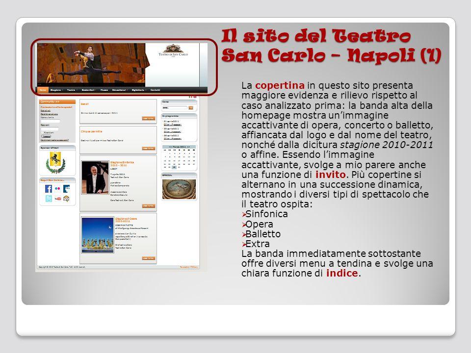 Il sito del Teatro San Carlo – Napoli (1)