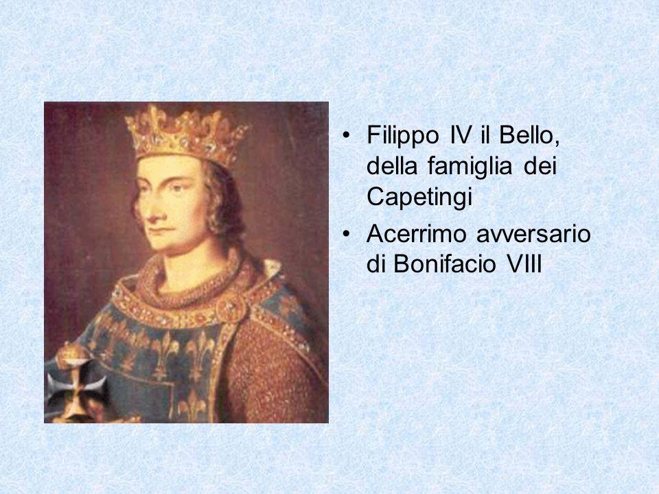 Filippo IV il Bello, della famiglia dei Capetingi