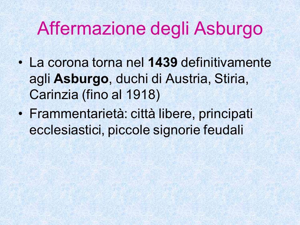 Affermazione degli Asburgo