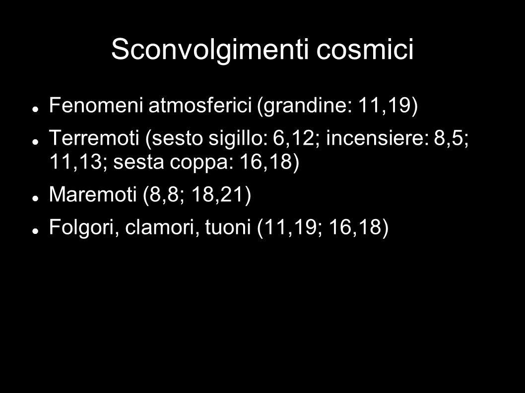 Sconvolgimenti cosmici