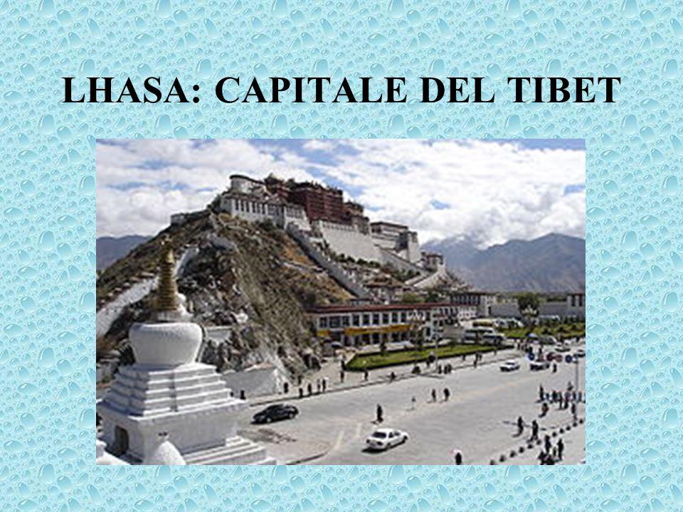 LHASA: CAPITALE DEL TIBET