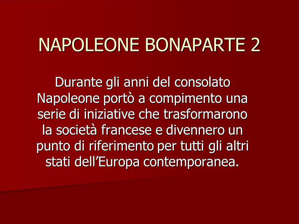 NAPOLEONE BONAPARTE 2