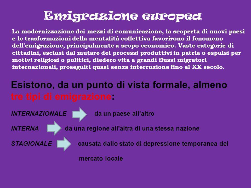 Emigrazione europea