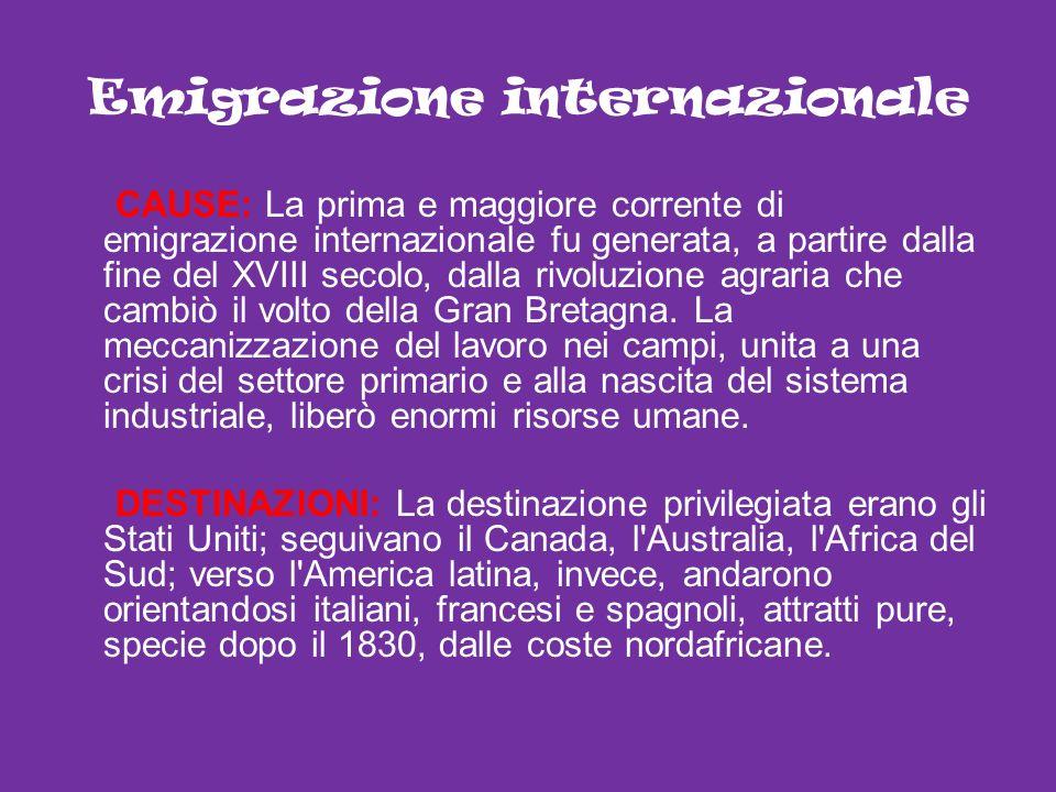 Emigrazione internazionale