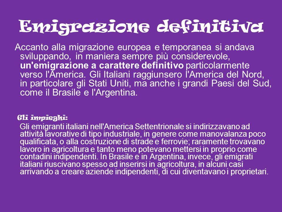 Emigrazione definitiva