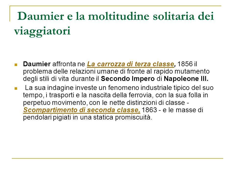 Daumier e la moltitudine solitaria dei viaggiatori