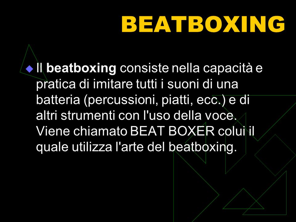 BEATBOXING