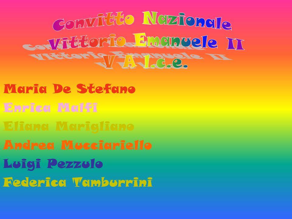 Maria De Stefano Enrica Malfi Eliana Marigliano Andrea Mucciariello