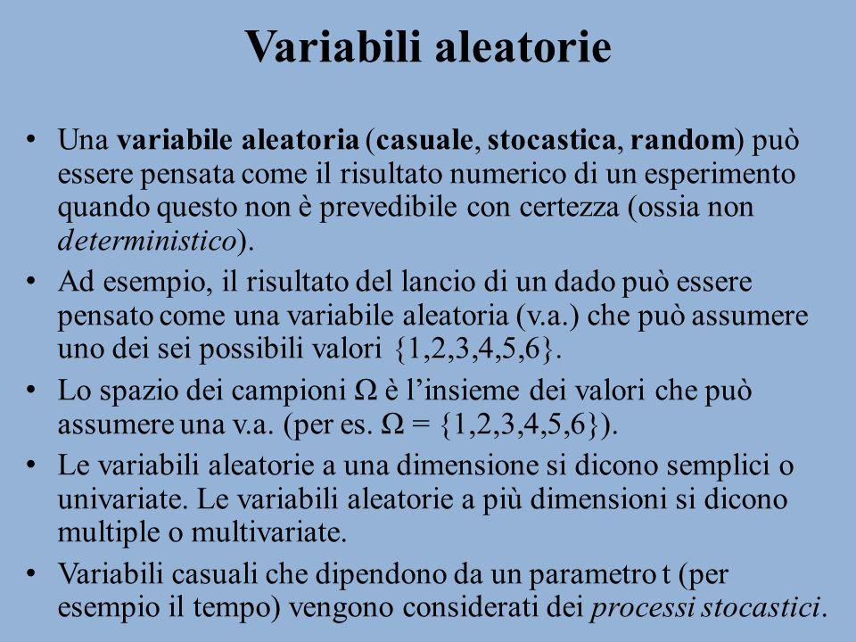 Variabili aleatorie