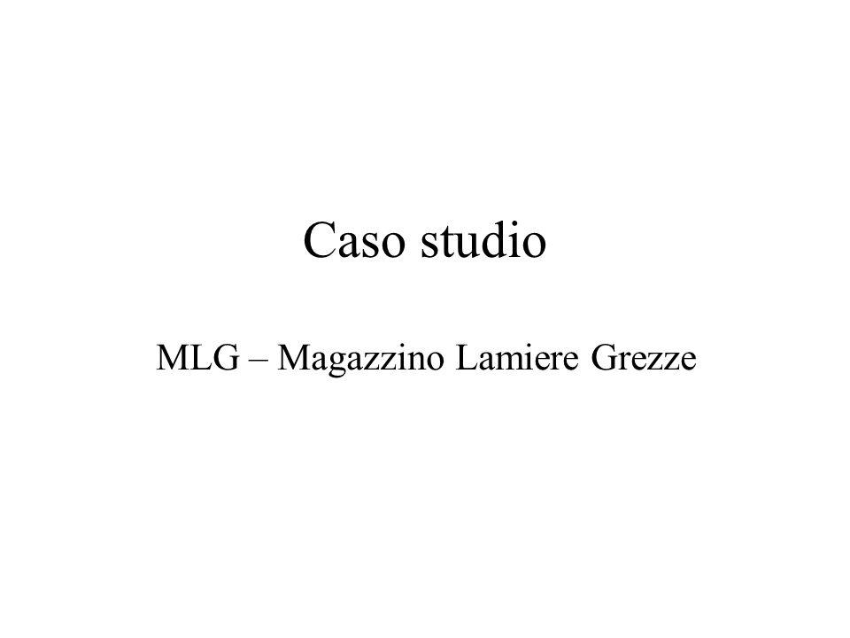 Caso studio MLG – Magazzino Lamiere Grezze