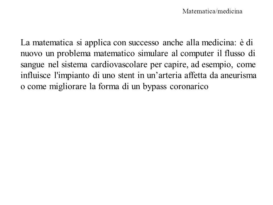 Matematica/medicina