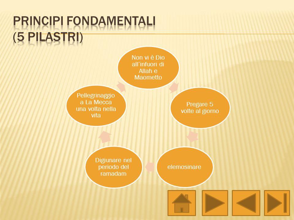 Principi fondamentali (5 pilastri)