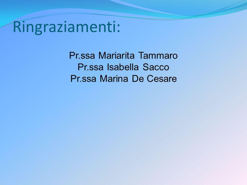 Pr.ssa Mariarita Tammaro