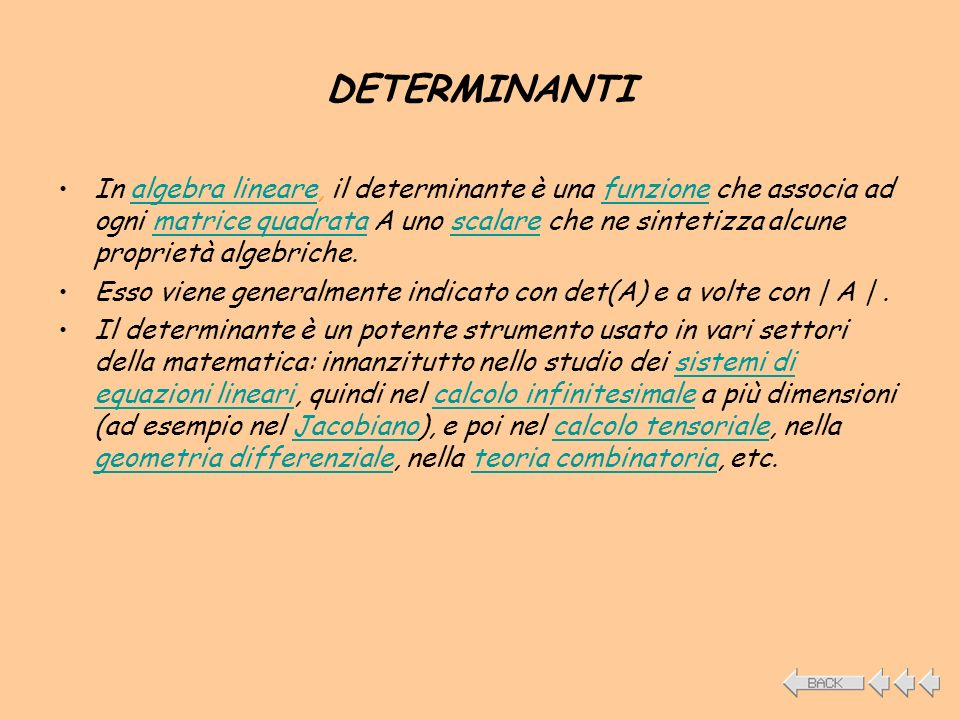 DETERMINANTI