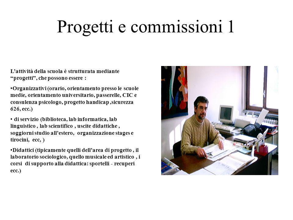 Progetti e commissioni 1
