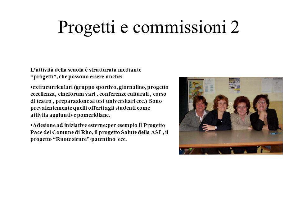 Progetti e commissioni 2