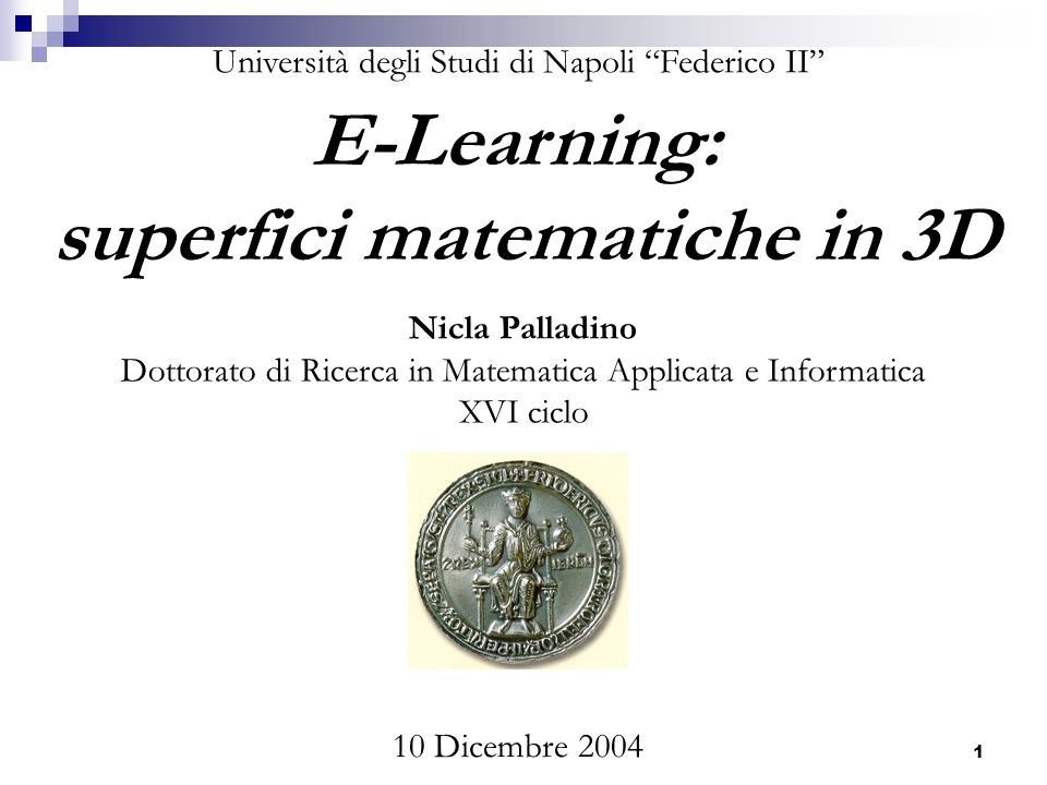 superfici matematiche in 3D