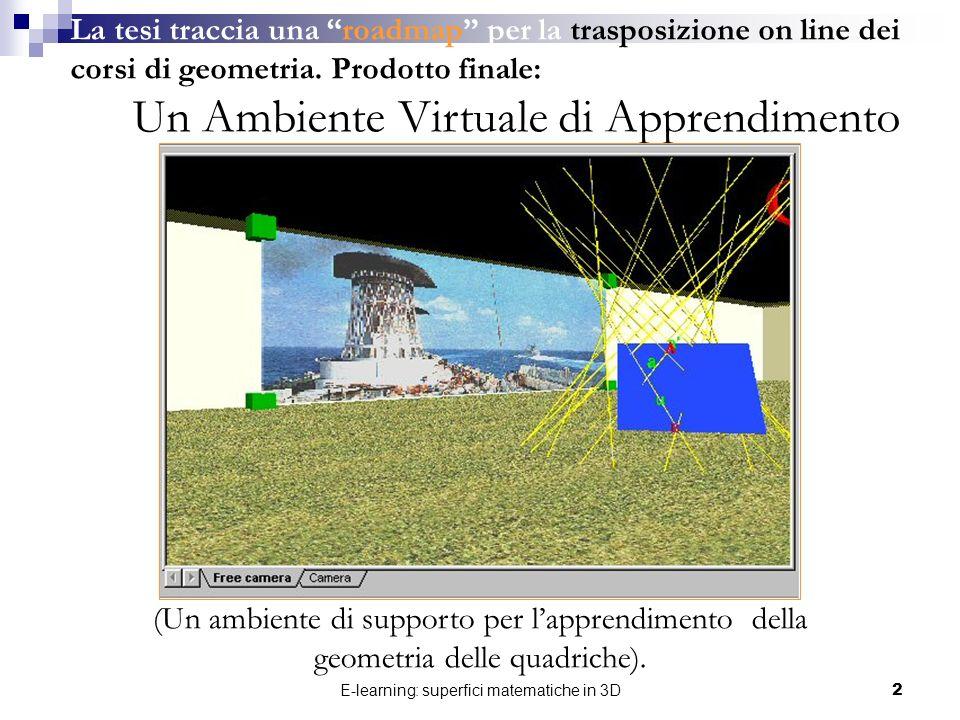 Un Ambiente Virtuale di Apprendimento