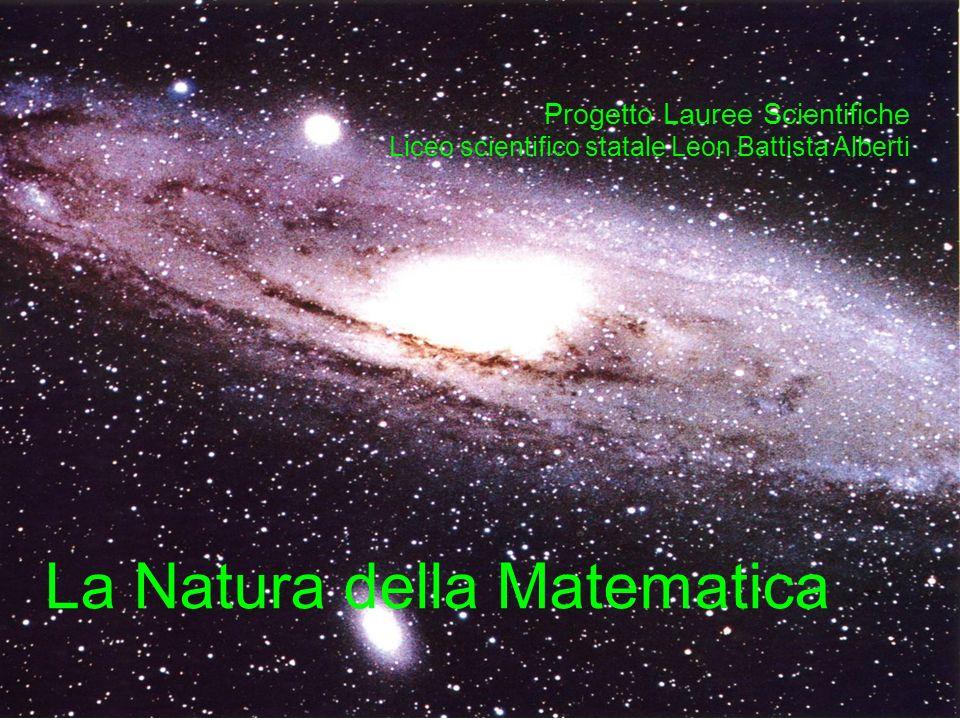 La natura della matematica