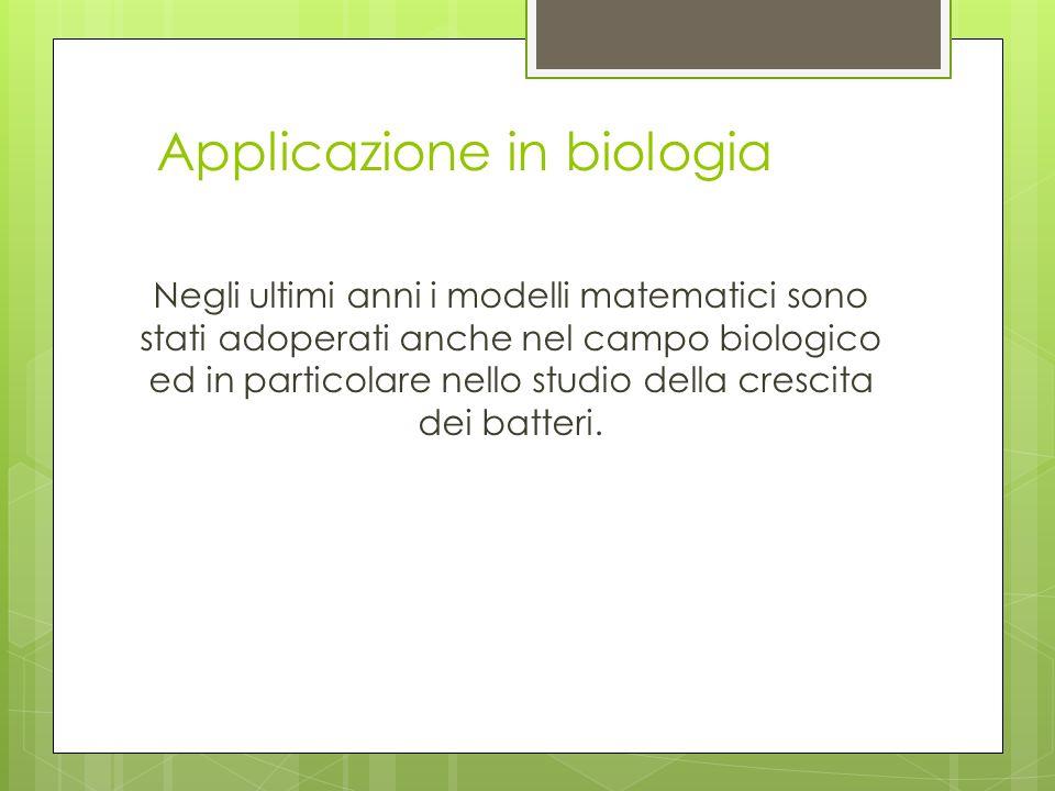 Applicazione in biologia