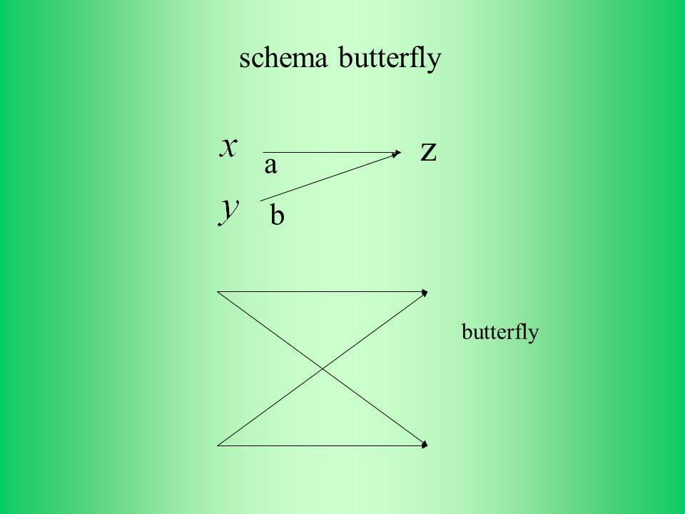 schema butterfly a b z butterfly