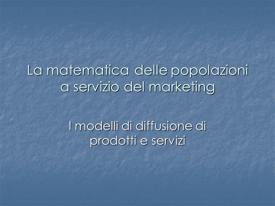 La matematica delle popolazioni a servizio del marketing