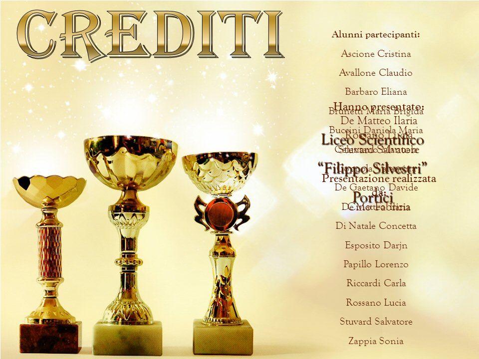 Crediti Liceo Scientifico Filippo Silvestri Portici