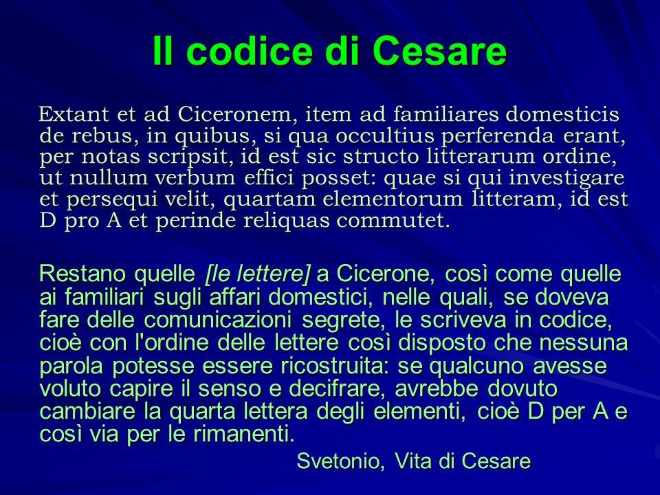 Svetonio, Vita di Cesare
