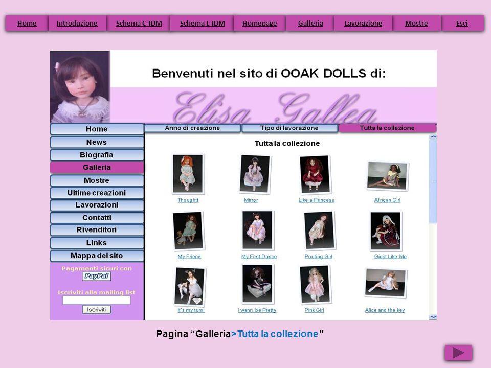 Pagina Galleria>Tutta la collezione