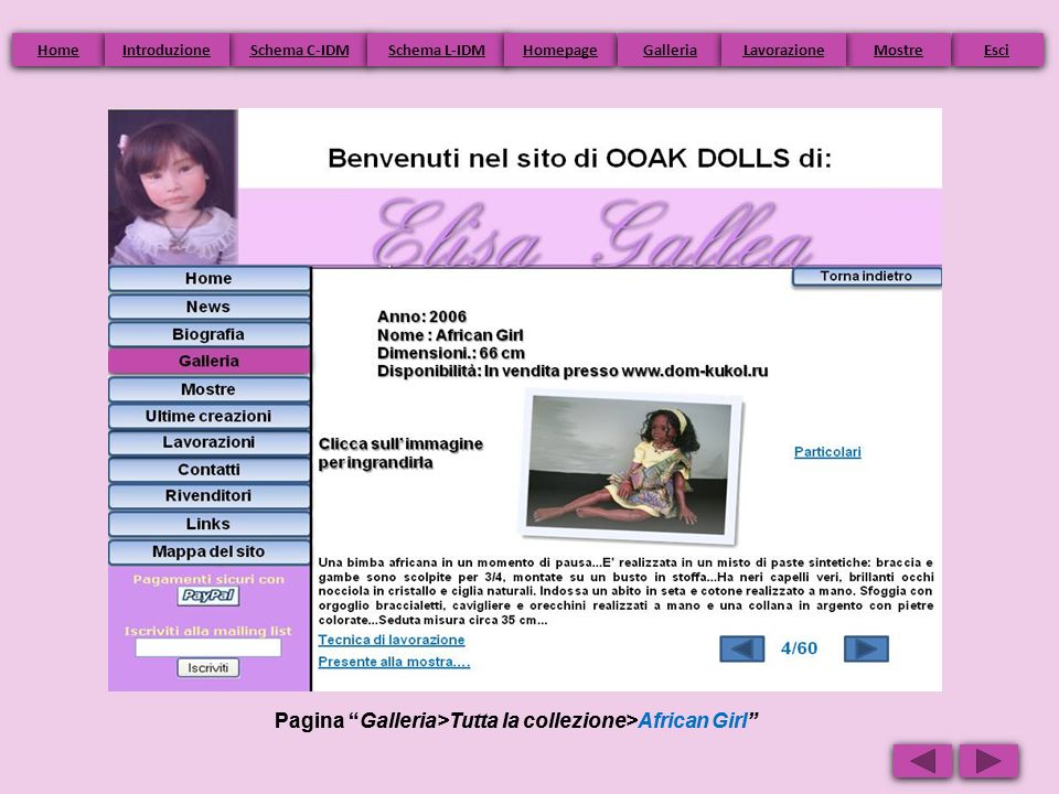 Pagina Galleria>Tutta la collezione>African Girl