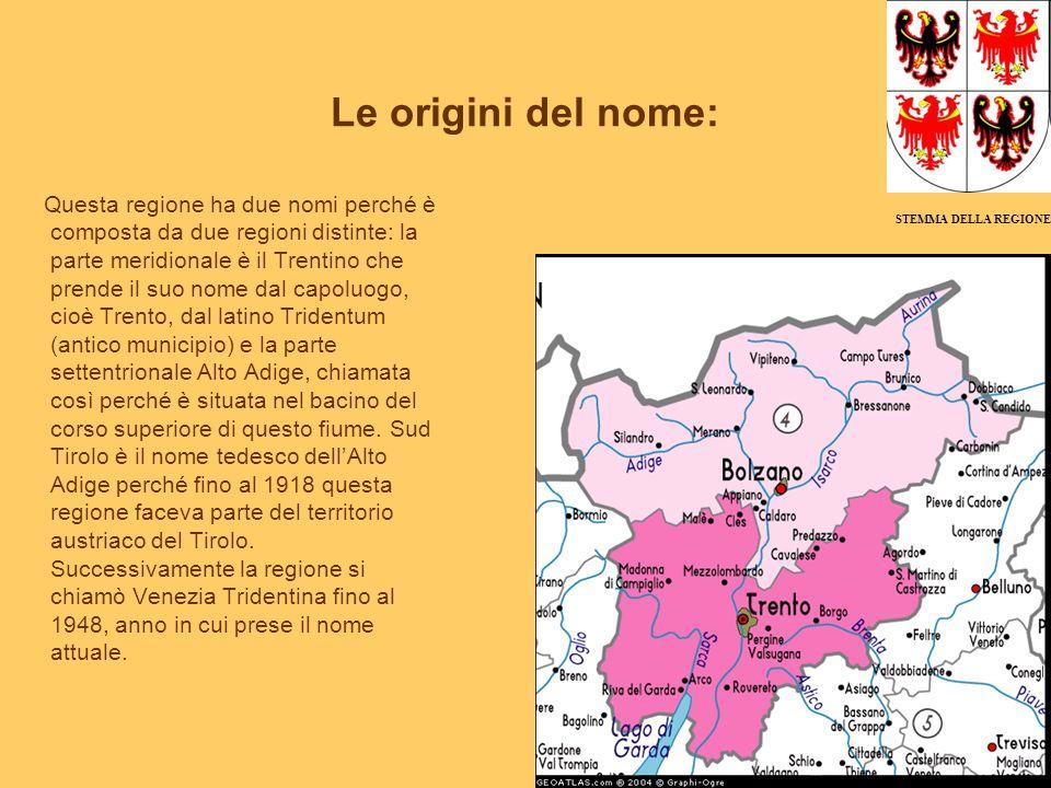 Le origini del nome: