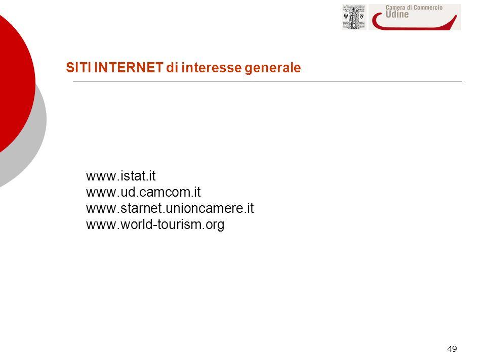 SITI INTERNET di interesse generale