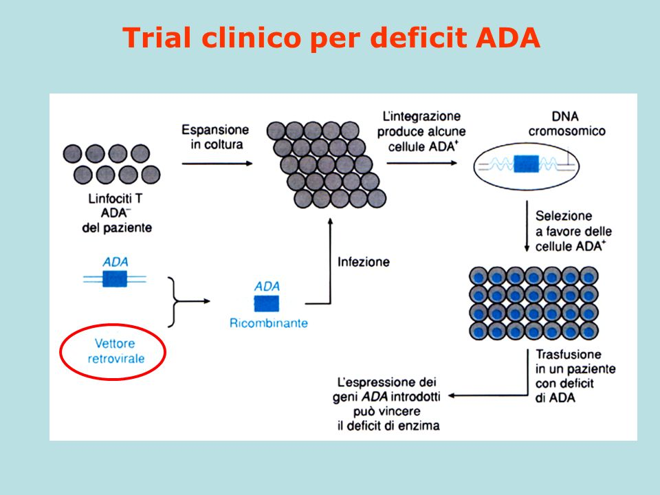 Trial clinico per deficit ADA