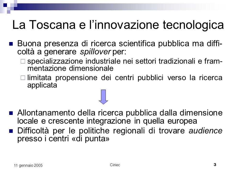 La Toscana e l'innovazione tecnologica
