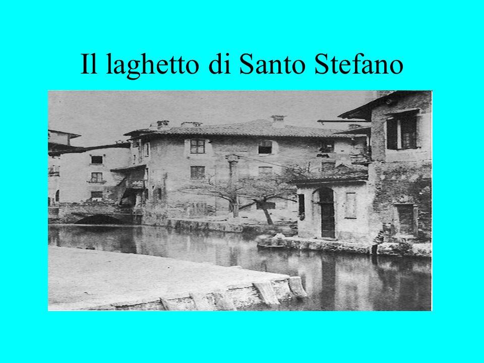 Il laghetto di Santo Stefano