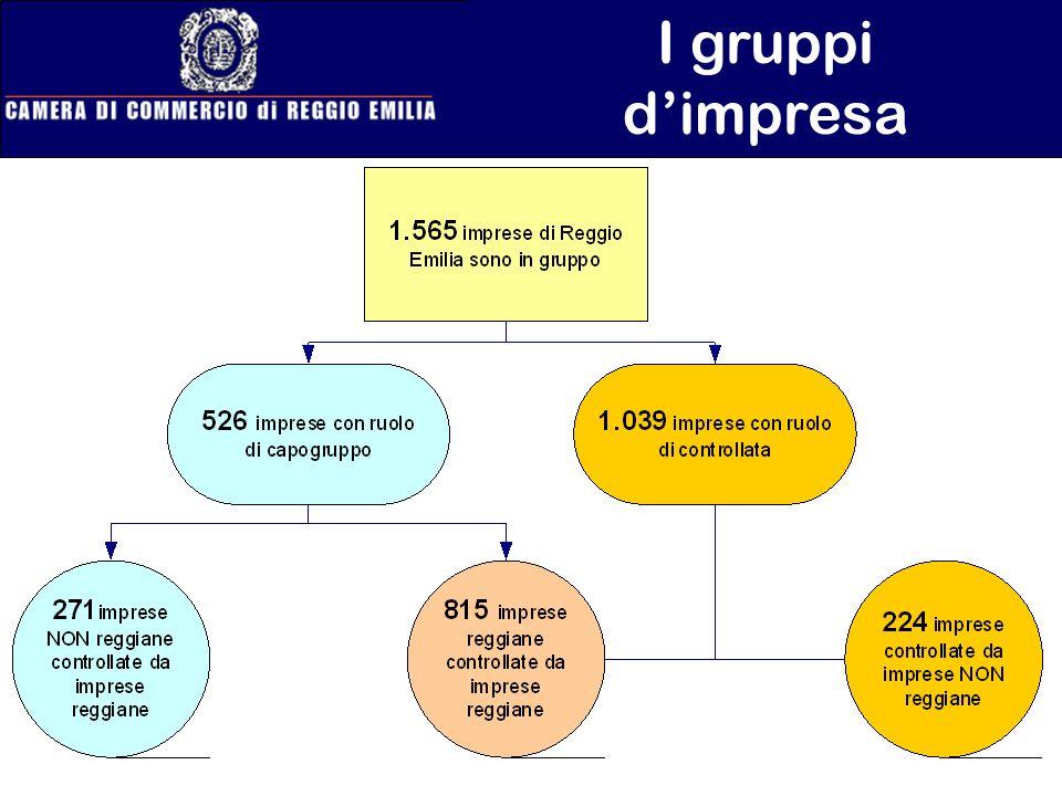I gruppi d'impresa