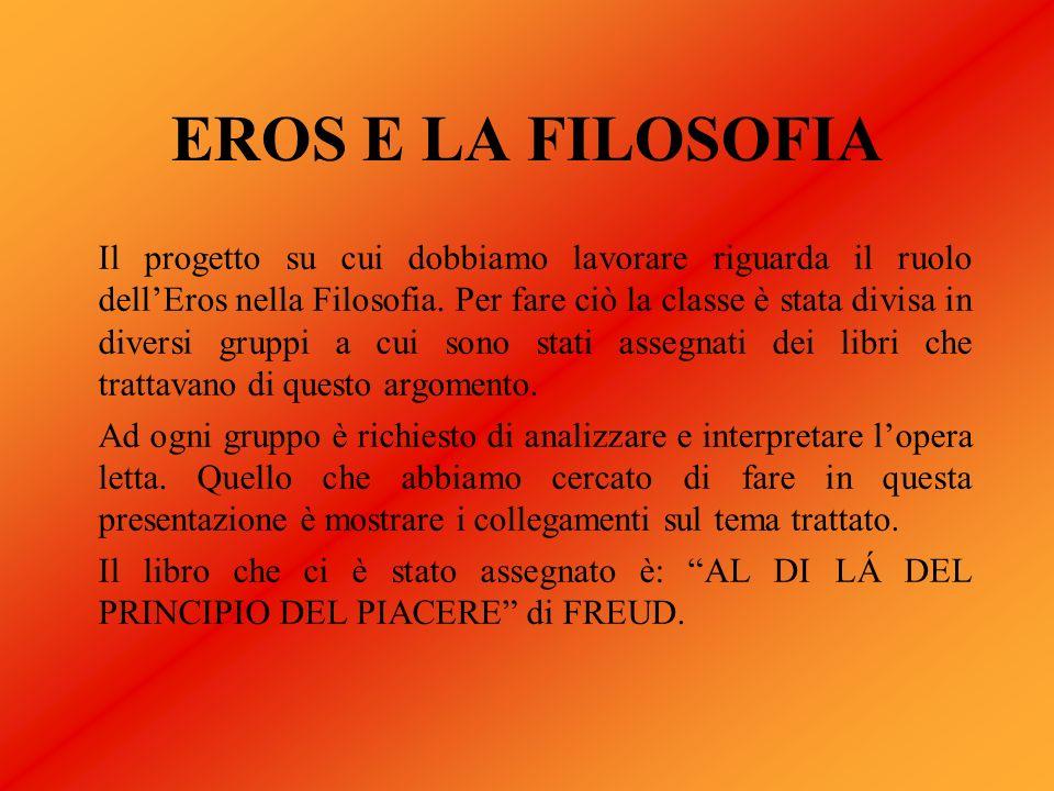EROS E LA FILOSOFIA