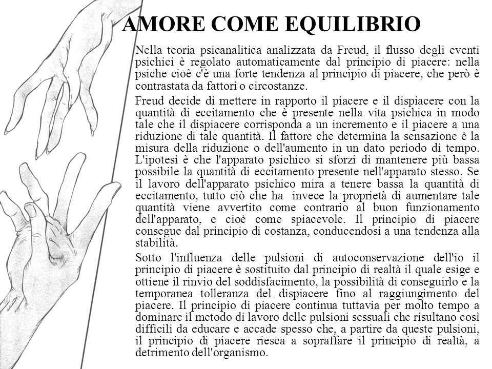 AMORE COME EQUILIBRIO