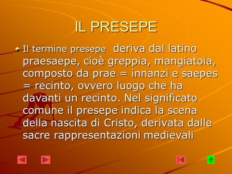 IL PRESEPE